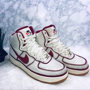 Nike Air Force 1 High '07 White Red